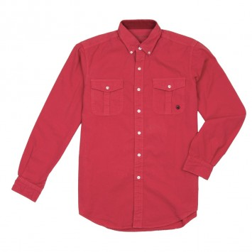 Henning Field Shirt - Washed Red